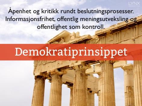 demokratiprinsippet